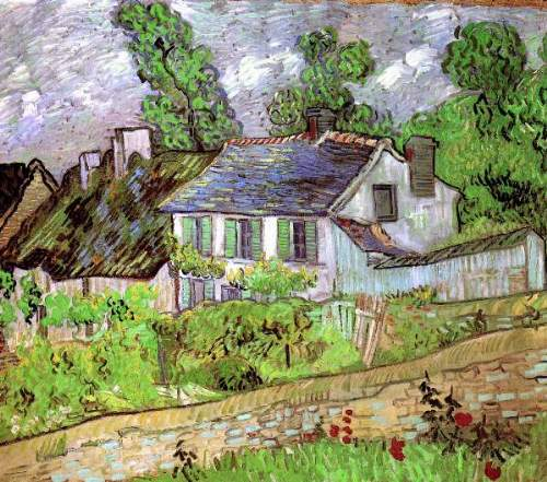 Houses in Auvers [2]